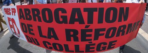 Réformedu collège : flop de la grève, Vallaud-Belkacem inflexible