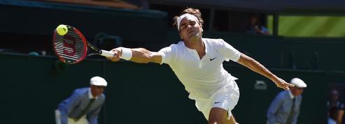 Wimbledon: le geste de génie de Roger Federer
