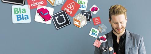 Les Français adhèrent de plus en plus à l'économie du partage