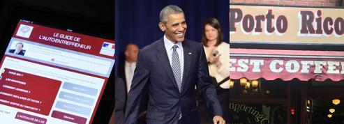 Entrepreneurs, Obama, Porto Rico: le récap éco du jour