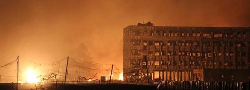 Visibles depuis l'espace, les explosions de Tianjin ont provoqué un petit séisme