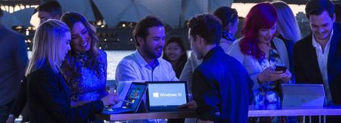 Un mois après, Microsoft est ravi du démarrage de Windows 10