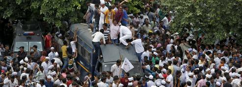 En Inde, une révolte de caste embrase l'État du Gujarat
