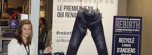 Bonobo fabrique des jeans avec du textile usé et des bouteilles en plastique