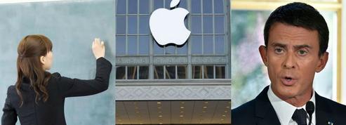 Fonctionnaires, Apple, droit du travail: le récap éco du jour