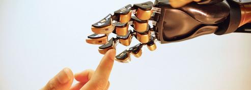 Le sens du toucher reproduit par un composant électronique
