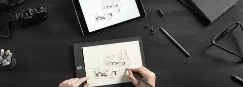 Slate, une tablette intelligente qui reproduit les dessins sur un iPad