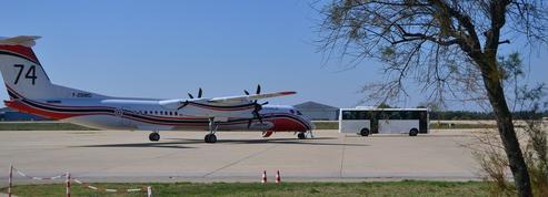À Nîmes, les migrants arrivés en avion sont déjà tous repartis…