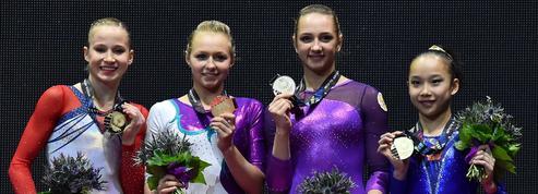 Quatre médaillées d'or ex-aequo aux Championnats du monde de gymnastique
