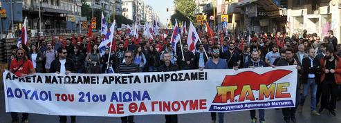 Grèce: Tsipras défié par sa première grève générale