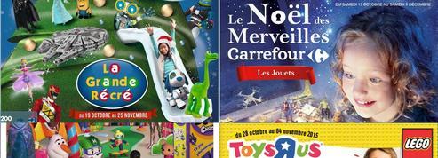 Avalanche de catalogues dans nos boîtes aux lettres avant Noël