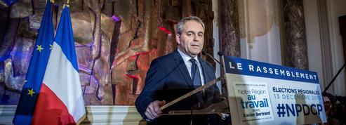 Nord-Pas-de-Calais-Picardie: Xavier Bertrand s'impose contre Marine Le Pen