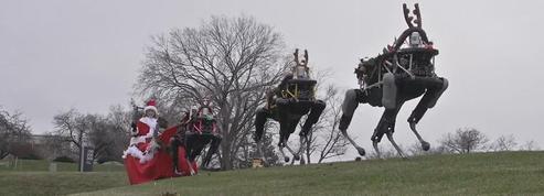 Google remplace les rennes du père Noël par des robots