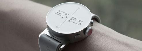 Dot, une montre connectée en braille pour faciliter le numérique aux malvoyants