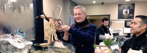 Bruno Le Maire en campagne contre les «crabes de la politique»