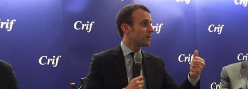 2017 : Macron exhorte Hollande à faire son «bilan» avant la présidentielle