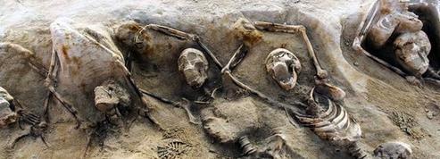 Découverte de 80 squelettes antiques en Grèce