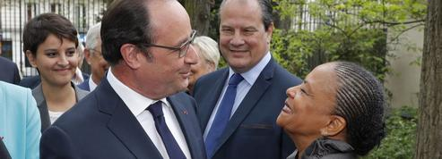François Hollande : «Christiane Taubira me manque»
