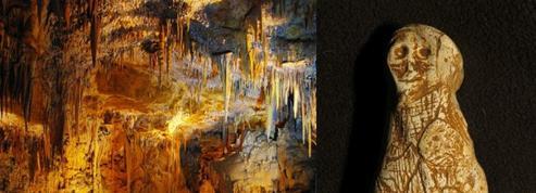 Une statuette découverte dans la grotte de Foissac