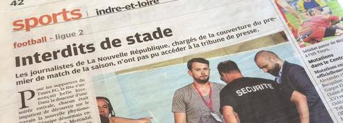 Deux journalistes interdits de stade à Tours