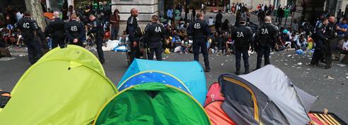 Les campements parisiens renaissent au gré des évacuations