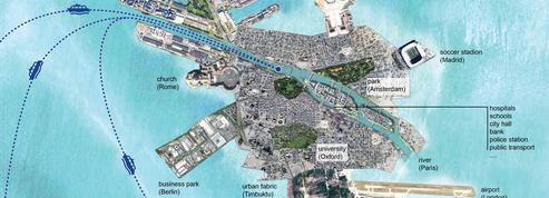 Un architecte néerlandais imagine une île artificielle pour accueillir les migrants