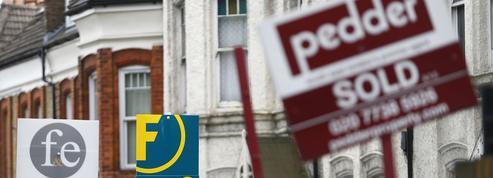 L'immobilier, premier secteur du Royaume-Uni confronté à un net ralentissement