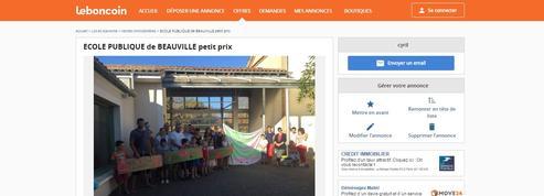 Des parents d'élèves du Lot-et-Garonne mettent leur école en vente sur le Bon Coin
