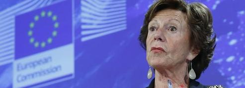 L'ex-commissaire européenne à la concurrence aurait dirigé une société offshore