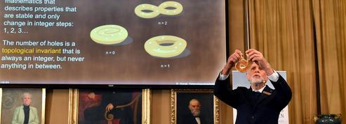 Le Nobel de physique récompense la découverte d'états exotiques de la matière