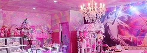 Un café rose bonbon dédié aux licornes à Bangkok