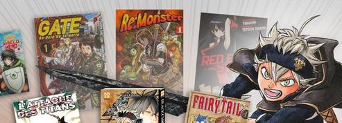 Le Top 15 des meilleurs mangas de «fantasy»