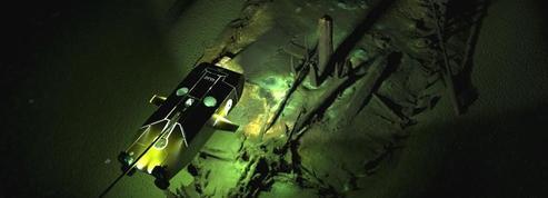 Des dizaines d'épaves antiques retrouvées dans les profondeurs de la mer Noire