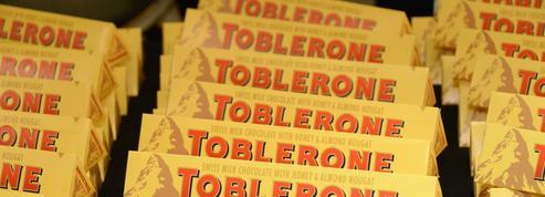 Toblerone réduit le nombre de triangles de ses barres et fâche ses fans britanniques