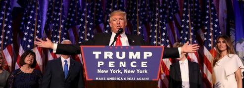 Les 100 premiers jours de Trump à la Maison-Blanche: avis de tornade à Washington