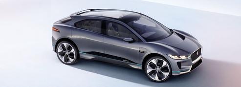 Jaguar i-Pace, un crossover électrique pour 2018