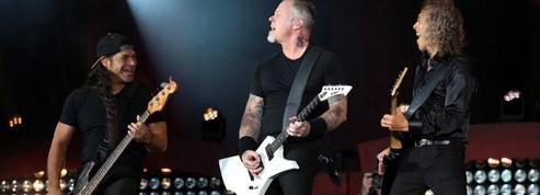 Metallica se hisse sur le podium des ventes d'albums