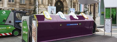 Paris inaugure «Trilib'», la nouvelle station de collecte des déchets recyclables