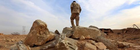 Dans les ruines assyriennes de Nimroud, libérée de Daech