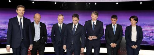Hormis Valls, les candidats attaquent le bilan économique de Hollande