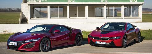 BMW i8 et Honda NSX: une rencontre sous haute tension