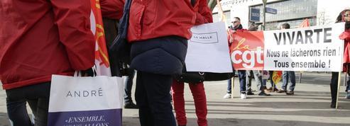 André, La Halle : deux PSE annoncés et des cessions d'enseignes