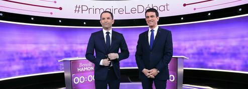 Primaire à gauche : ce qu'il faut retenir du débat télévisé Hamon-Valls