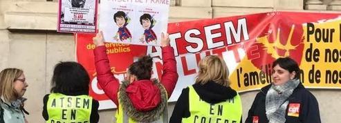 Les agents territoriaux spécialisés des écoles maternelles en grève