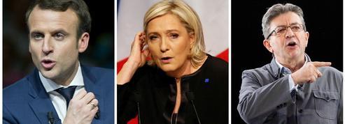 «Macron, Le Pen, Mélenchon: la guerre des trois aura lieu»