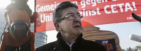 À Strasbourg, Mélenchon combat le traité UE-Canada