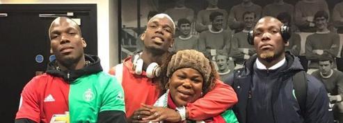 Manchester United-Saint-Etienne : le show de la famille Pogba après le match