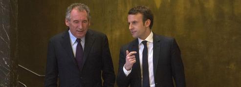 Macron et Bayrou célèbrent leurs noces politiques
