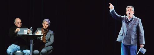 Un hologramme puissance six pour Mélenchon