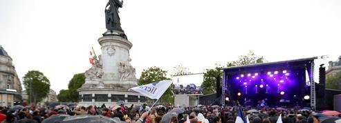 Place de la République, morne soirée contre le «F-Haine»
